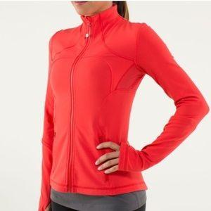 Lululemon Red Forme Jacket